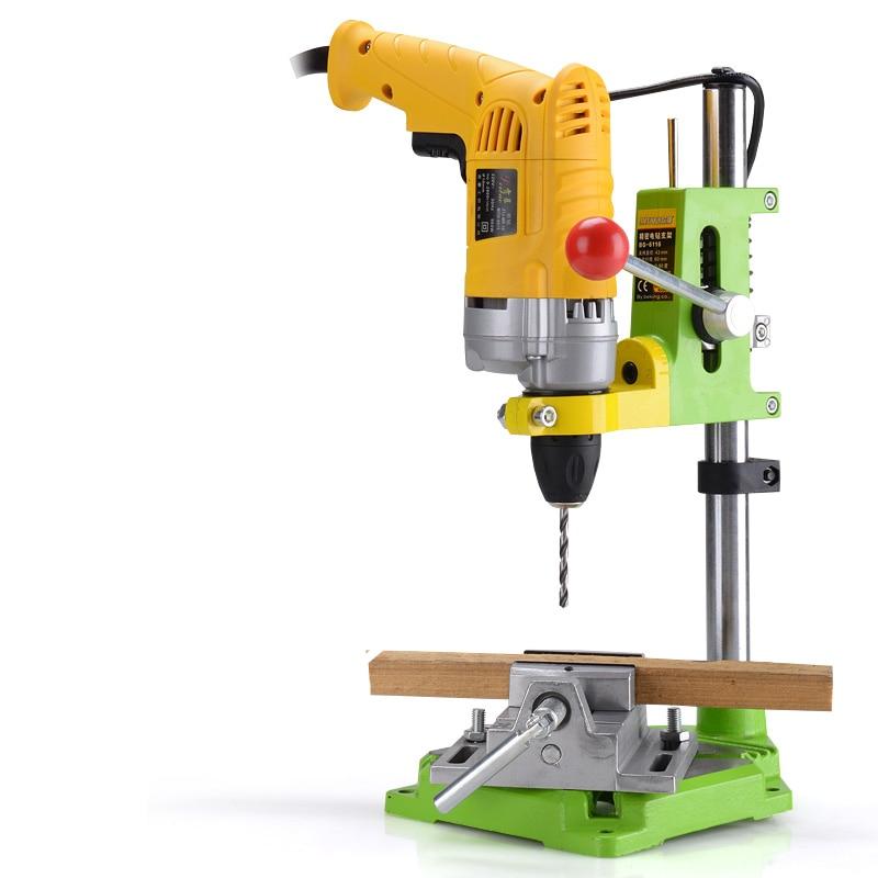 MINIQ Precision Electric Drill Stand Power Rotary Tools aksesuarai - Elektrinių įrankių priedai - Nuotrauka 4