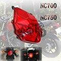 Für HONDA NC 700 NC700 NC 750 NC750 Motorrad Hinten Schwanz Lichter auf