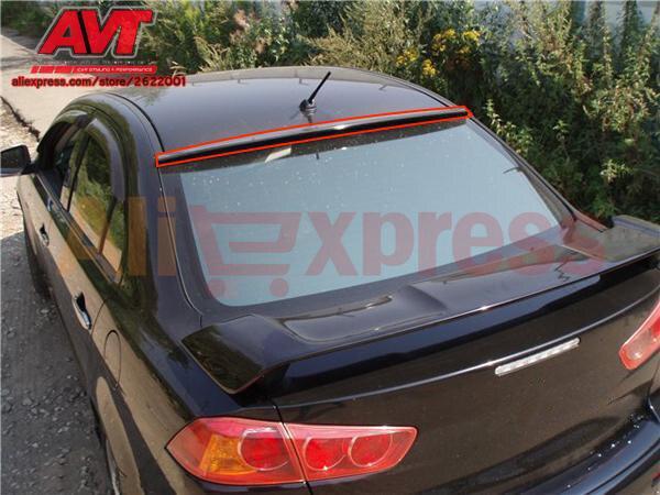 Auvent pour Mitsubishi Lancer X 2007-2009-2010-2017 ABS plastique décor sports styles accessoires aérodynamique aile arrière voiture style