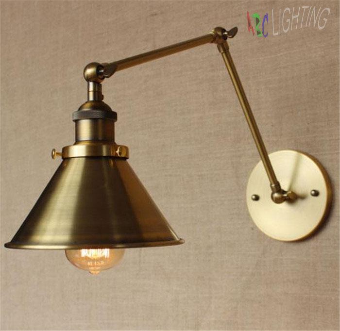 ᑐWall Lamps America Retro ≧ Industrial Wall Light