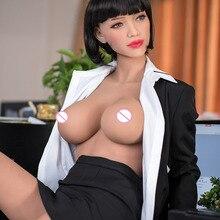 165cm japonês silicone sexo bonecas anime grande mama sexo boneca, realista corpo inteiro adulto amor boneca metal esqueleto, vagina real oral