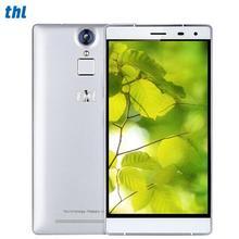 Thl t7 finger id смартфон 1280×720 5.5 «HD 4800 мАч Мобильного Телефона MTK6753 Octa Ядро 4 Г LTE 3 ГБ RAM 16 ГБ ROM 13.0MP Мобильного Телефона