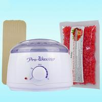 BellyLady Hair Removal Wax Warmer Wax Heater Pot+20 Wooden Spatula Sticks+1 pc Wax Beans