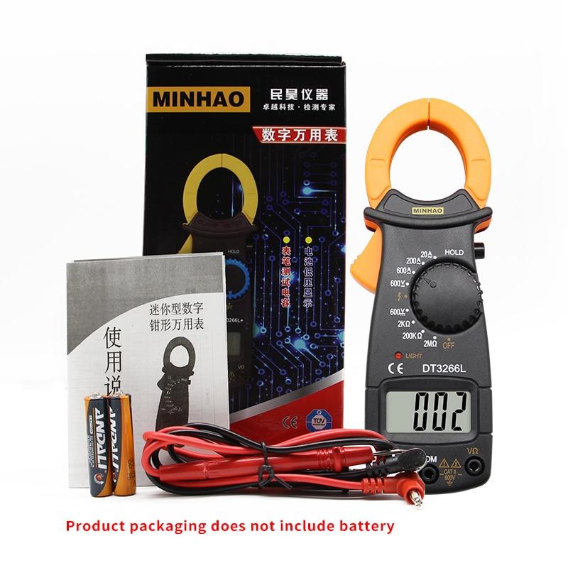Digitaalne Multimeeter DT-3266L 600A 5