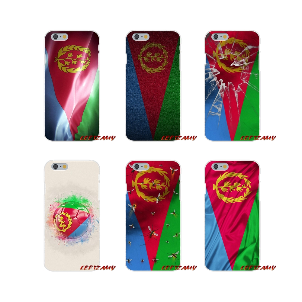 Flag Of Eritrea For Samsung Galaxy S3 S4 S5 MINI S6 S7 edge S8 S9 Plus Note 2 3 4 5 8 Accessories Phone Cases Covers