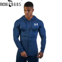 2017 Brand Fitness Brothers Male Autumn And Winter New Fitness Clothes Casual Men S Tight Fitting