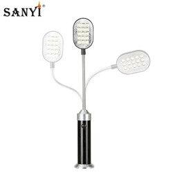 Flexible 28cm Ultra Helle Mini 15LED Magnetische Arbeit Licht 360 Grad Rotation Tisch Lampe Taschenlampe Taschenlampe Bequem für Lesen