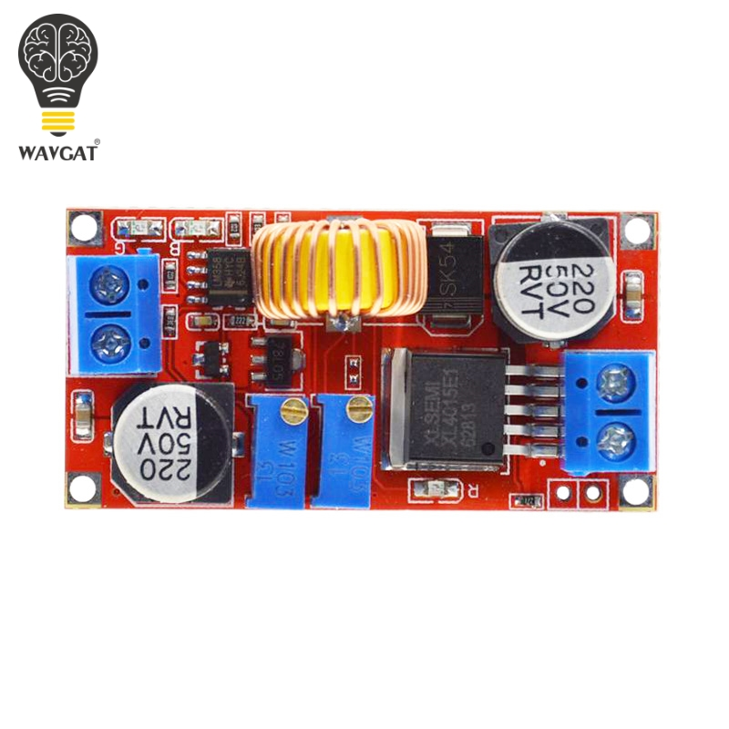 Image 4 - Original 5A DC to DC CC CV Lithium Battery Step down Charging Board Led Power Converter Lithium Charger Step Down Module XL4015-in Integrated Circuits from Electronic Components & Supplies