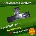 Batería del ordenador portátil ap11d3f jigu, ap11d4f para acer aspire s3, S3-351, S3-951, S3-371, MS2346 Series