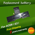 JIGU Laptop battery AP11D3F,AP11D4F For Acer Aspire S3, S3-351, S3-951,S3-371,MS2346 Series
