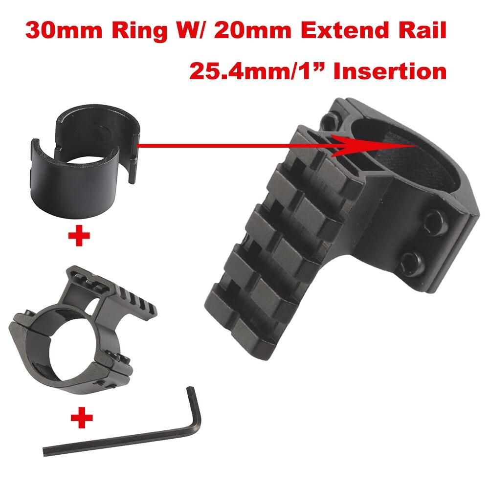 Цилиндрическое Крепление для винтовки 1 шт., кольцевой адаптер 1