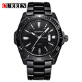 CURREN Original Watches Men's Quartz Casual Watch Men Luxury Brand Black Full Steel Date Men Sport Wristwatch Relogio Masculino