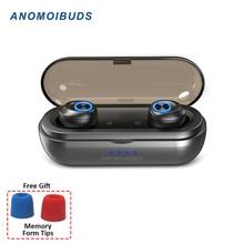 Anomoibuds IP010-X Capsule Pro 50 час Playtime TWS наушники Bluetooth наушники 1000 мАч глубокий бас стерео Hi-Fi спортивные наушники