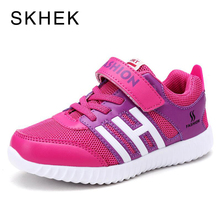 SKHEK New Breathable Children Shoes Boys Girls Fashion Mesh Kids Sneakers Casual Soft Size 27-36