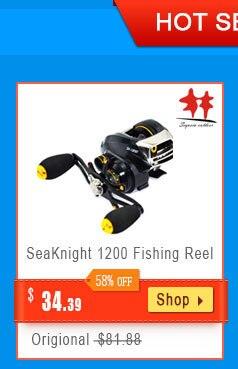 Seaknight treant ii fiação carretel de fibra