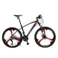 24/26 Inch Mountain and Road Bike Reasonable Dual Disc Brake 27 Speed Adult Cross country Racing Big Wheel New Style 2019