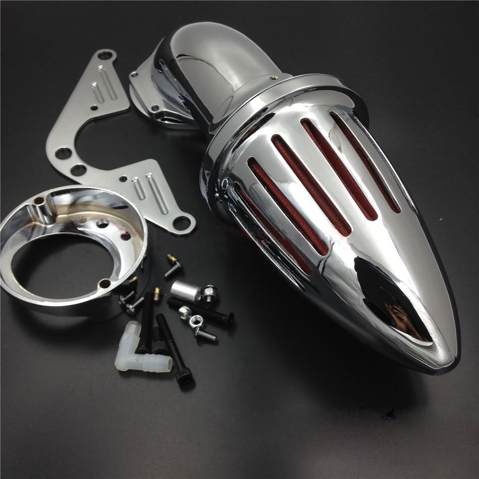 For Yamaha 1999up Road Star Roadstar 1600 1700 XV 1600A Spike Cone Air Cleaner Intake Filter Kit Motorcycle Accessories Parts in Air Filters Systems from Automobiles Motorcycles