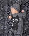 Meninos meninas roupas dos desenhos animados Do Bebê manga comprida macacão de bebê recém-nascido do bebê do algodão roupas macacão roupa infantil