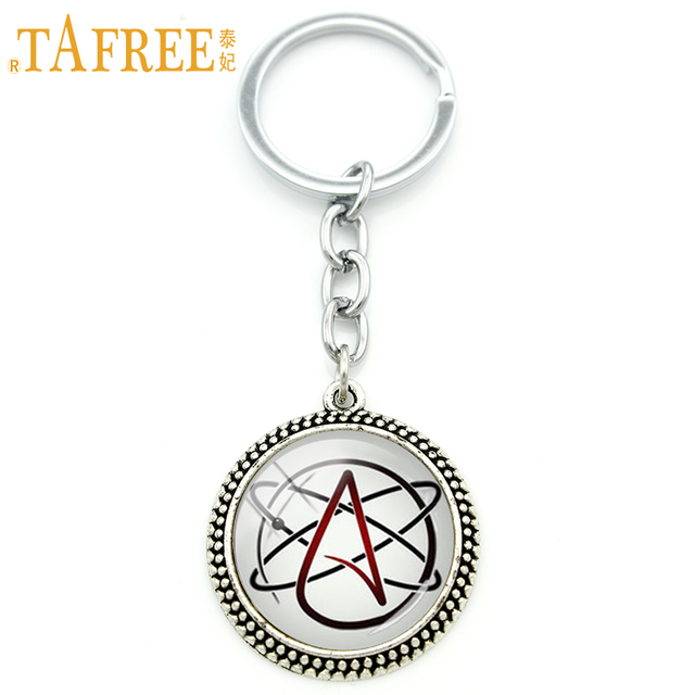 Tafree Wholesale Retail Atheist Symbol Men And Women Jewelry