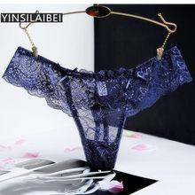 202e8a0ec56d9 Transparent Femelle Culottes de Femmes Sexy Culottes Plus La Taille  Dentelle Sous-Vêtements pour Dames
