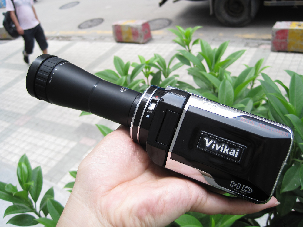 HDV680 16x Digital Zoom HD Digital Video Camera With TV out, Flash light., Support Extended Lens winait electronic image stabilization hdv z8 digital video camera with recording function touch screen