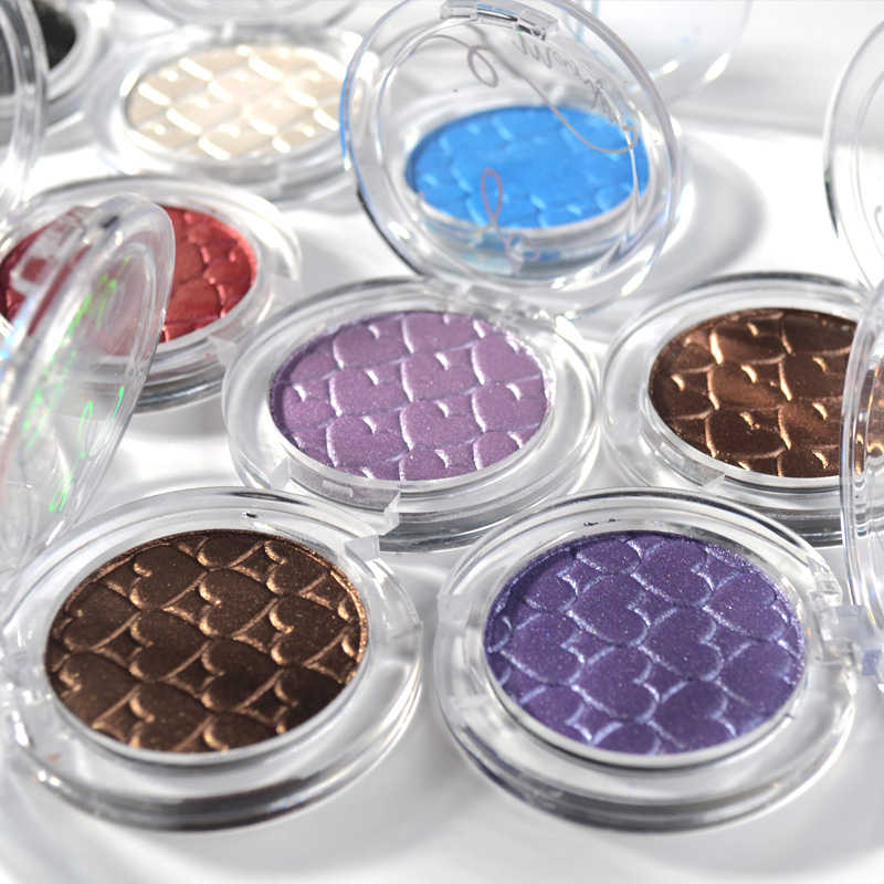 Monochrome eye shadow 23 color selection flash pearl single swatch eye shadow and smoky eyeshadow makeup lasting easy to color
