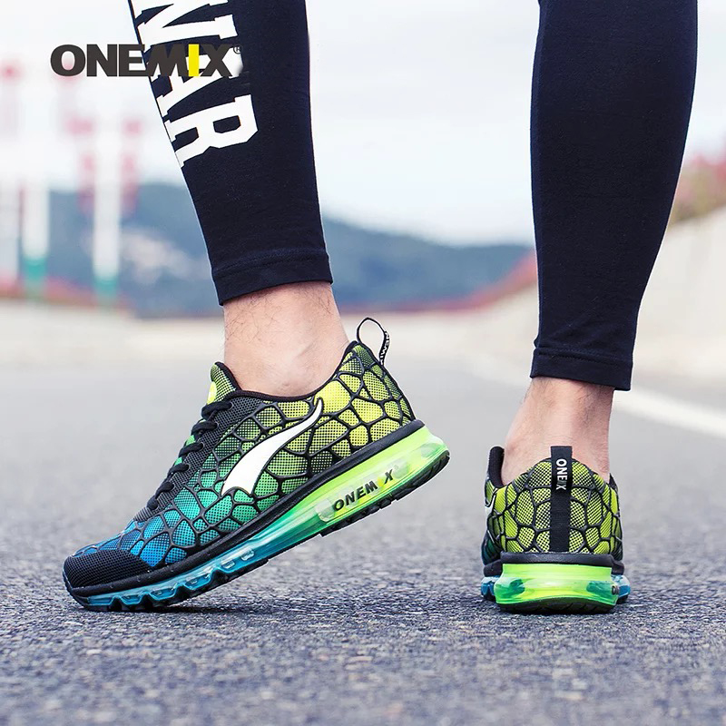 Hot onemix 2017 Män Air Running Shoes Outdoor Sportskor Andas Mesh - Gymnastikskor - Foto 6