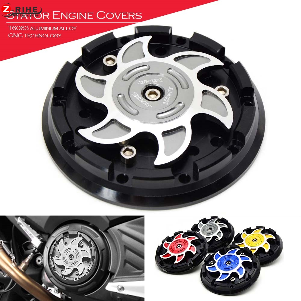 Motorcycle Engine Stator Cover Engine Protective Cover Side Protector For YAMAHA TMAX530 T MAX 500 T