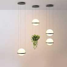 Modern Glass Ball Led Cord Pendant Lights Living room Hall Hanging Lamp Office Bar Stair Hanging Light Fixtures Nordic Loft Deco nordic crystal glass ball led pendant lights loft fixtures staircase pendant lamps bar hanging lamp hotel villa duplex apartment
