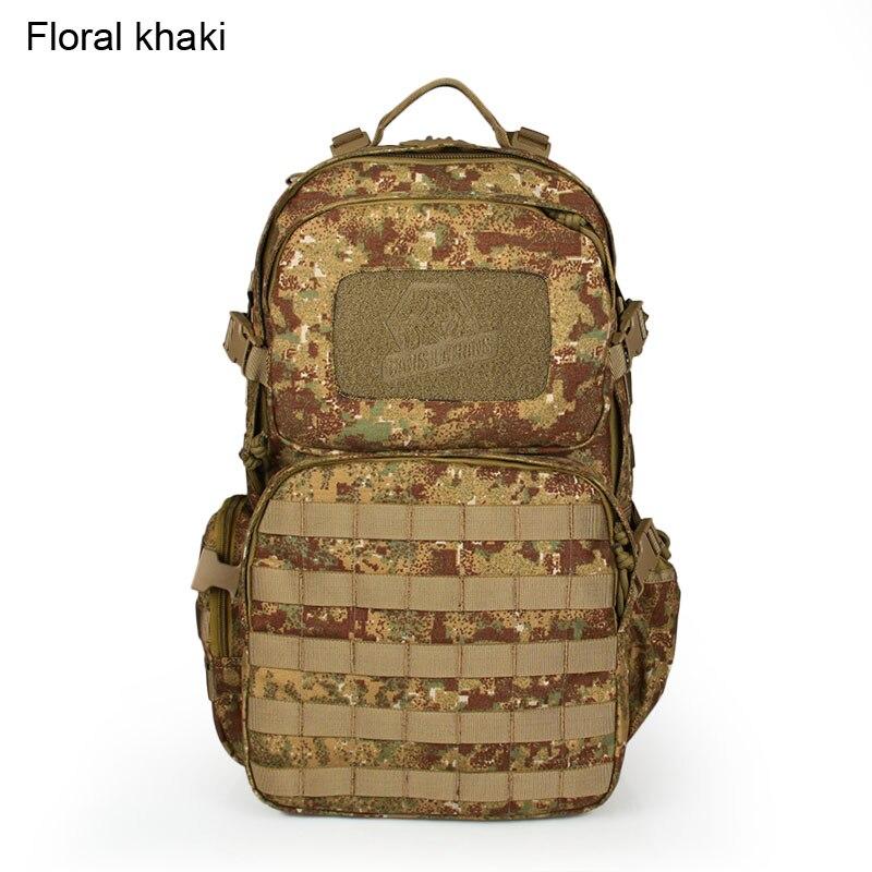 Hot Sale Unisex Checkered Inclined Shoulder Bag font b Tactical b font font b Backpack b