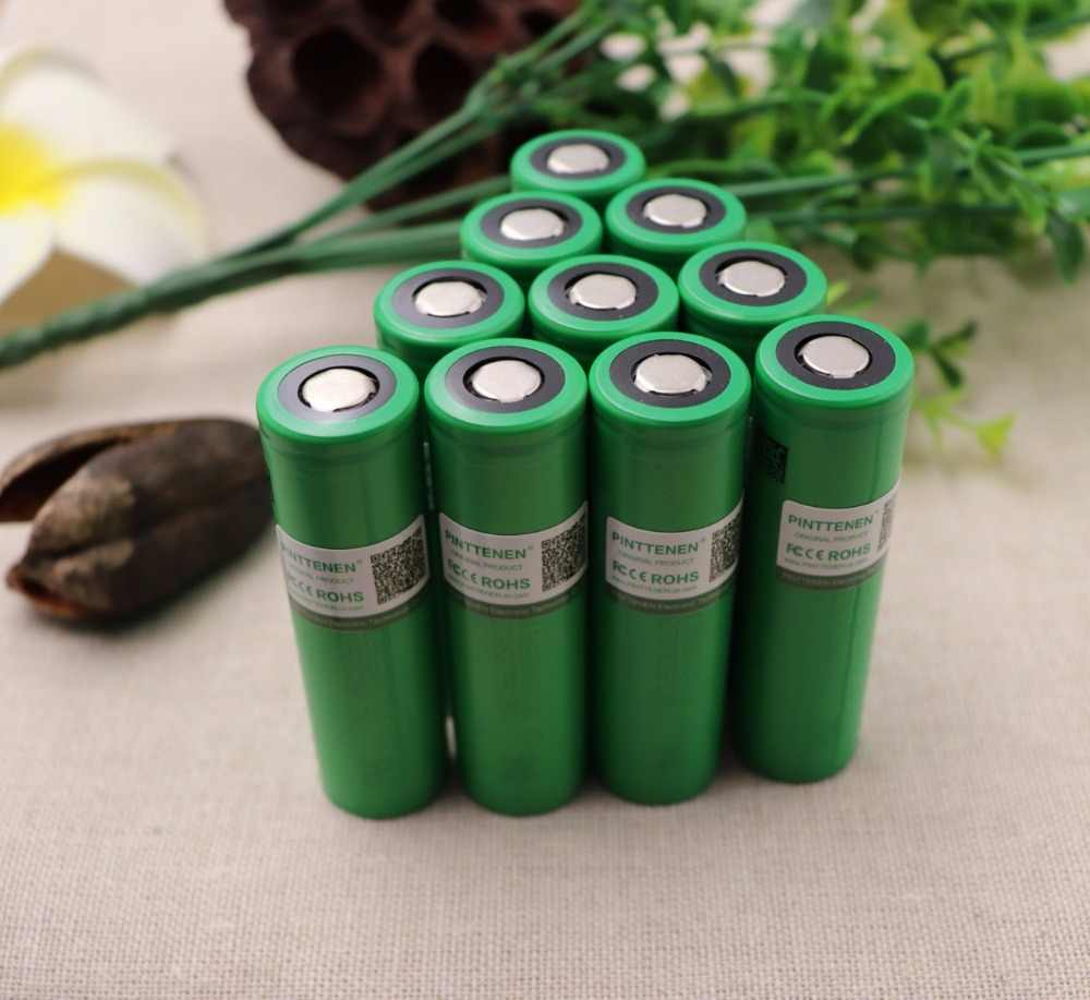 10PCS battery 3.7V 3000mAh rechargeable Li-ion battery 18650 for Sony US18650VTC6 30A Electronic cigarette toys tools flashligh