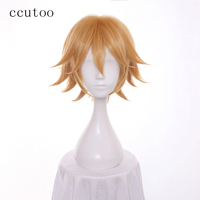 Ccutoo 65cm Long Curly Synthetic Hair Heat Resistance Fiber Cosplay Full Wigs Peluca For Halloween Party