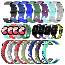 New Universal Smartwatch Band for Amazfit Bip Huawei 18/20/22mm Fitness Band for Fossil Asus Zenwatch Silicon Bracelet