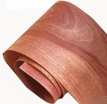 Length: 2.5Meters/Roll  Thickness:0.25mm  Width:15cm   Natural Peach Core Veneer