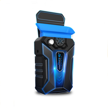 Прохладный холодный Портативный низкая Шум silent USB воздуха Извлечение ноутбука Тетрадь кулер вентилятор охлаждения радиатора с вакуумной вентилятор четыре рукава