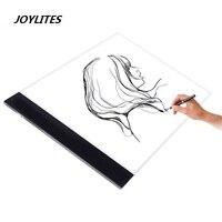 1 Set A4 Tracing Drawing Table LED Artist Slim Art Stencil Box Light Board Tracing Drawing