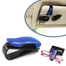 2016 new Car Sun Visor Glasses Sunglasses Ticket Receipt Card Clip Storage Holder wholesale