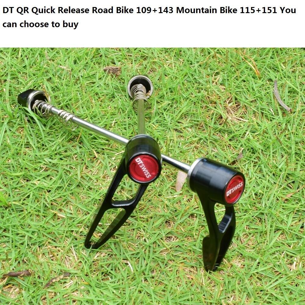 DT QR pour vélos de montagne vélos de route fourche Suspension rapide pour roues 9x100mm