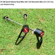 DT liberação Rápida QR para bicicletas de montanha bicicletas de Estrada Garfos de Suspensão para 9x100mm rodas