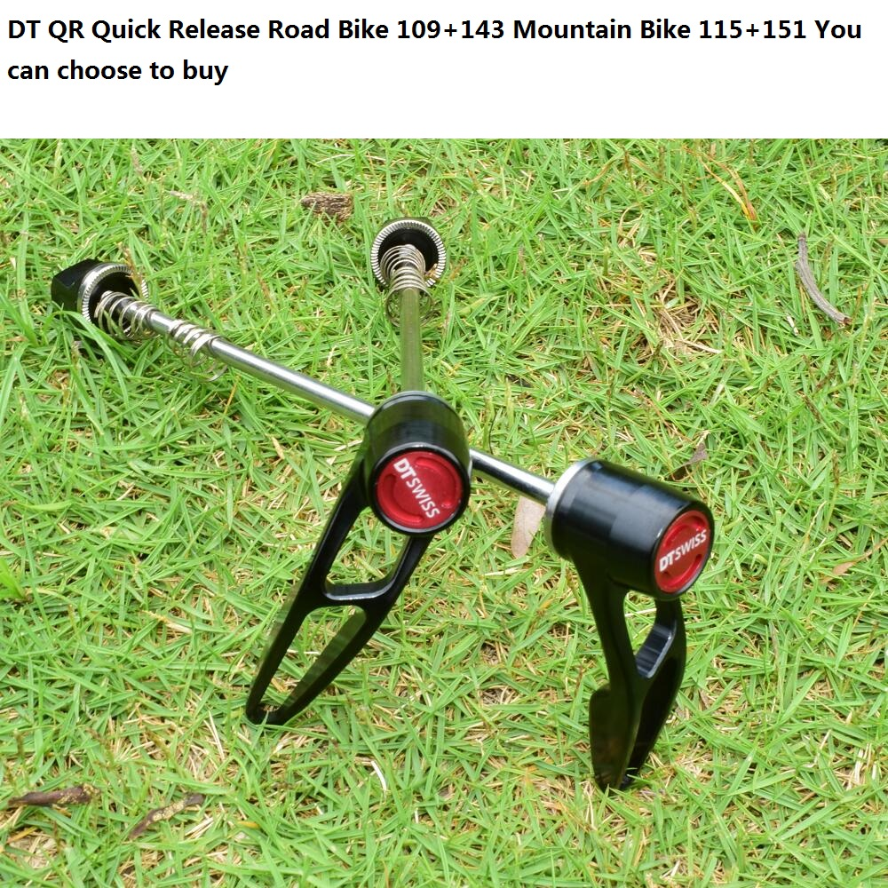 DT QR for mountain bikes Road bikes Forks Suspension Quick release for 9x100mm wheels(China)