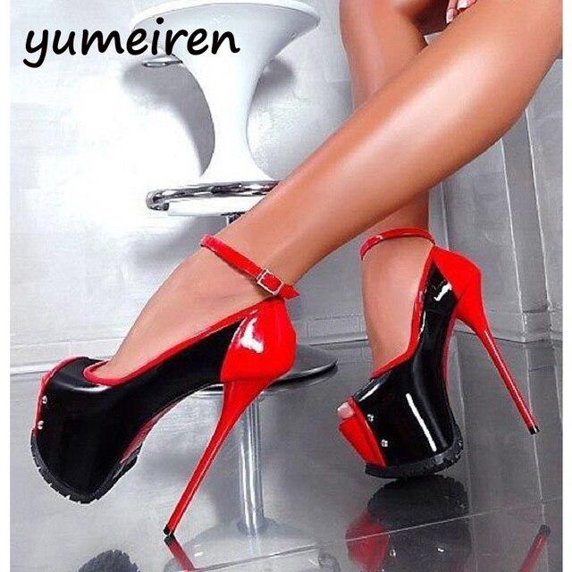 Дамы насосы туфли на каблуках для женщин насосы peep toe sexy высокие каблуки свадебные туфли невесты розовые пятки женская обувь насосы X42