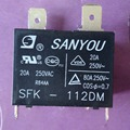 SFK-112DM sanyou relé 12VDC 20A 250VAC G4A20A condicionador de ar 100% original novo