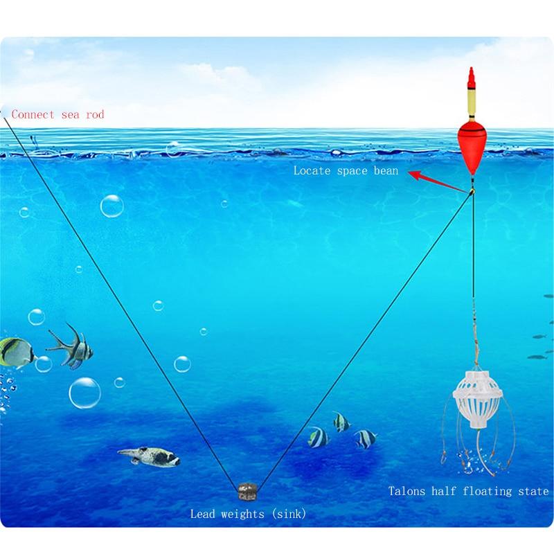 1 Set Carp Fishing Float Bobber Sea Monster Fiskeflotta med starka - Fiske