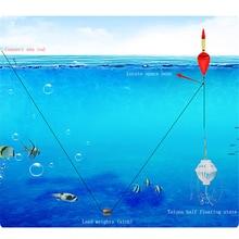 1 Set Carp Fishing Float Bobber Sea Monster with Strong Explosion Hooks Tackle Sets