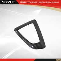 Carbon Fiber Gear Surround Trim Cover For BMW 1 2 3 4 Series 2012 Left Hand