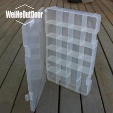 PP Material Good Quality 35.8*23.5*5cm 1pc Fishing Tackle Box Fishing Big Lure Box Multifunction Fishing Tackle Box