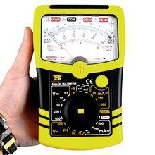 BS471110 аналоговый мультиметр, высокая точность. Уникальный дизайн, измерение: напряжение/ток/сопротивление/непрерывность/батарея