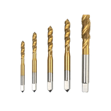 M3 M4 M5 M6 M8 HSS 6542 Titanium Machine Right Hand Tap Drill  Screw Thread Metric Spiral Hand Plug Tap Kit m21 x 1 5 hss left hand thread tap