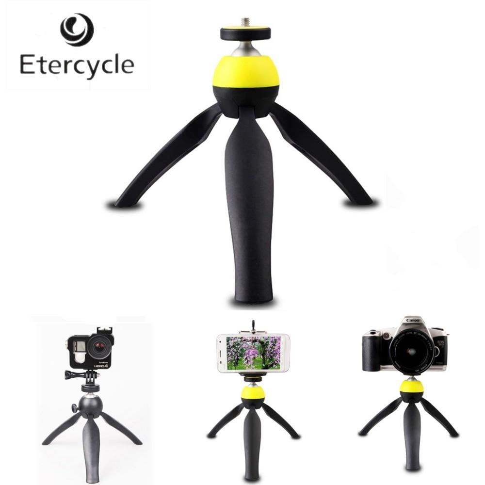 Etercycle Mini statief met telefoonhouder Desktop Monopod voor iPhone - Camera en foto