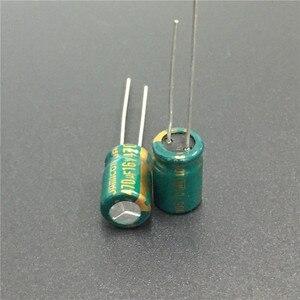 Image 2 - 10 шт. 470 мкФ 16V JAMICON WL серия низкое сопротивление 8x11,5 мм 16V470uF алюминиевый электролитический конденсатор